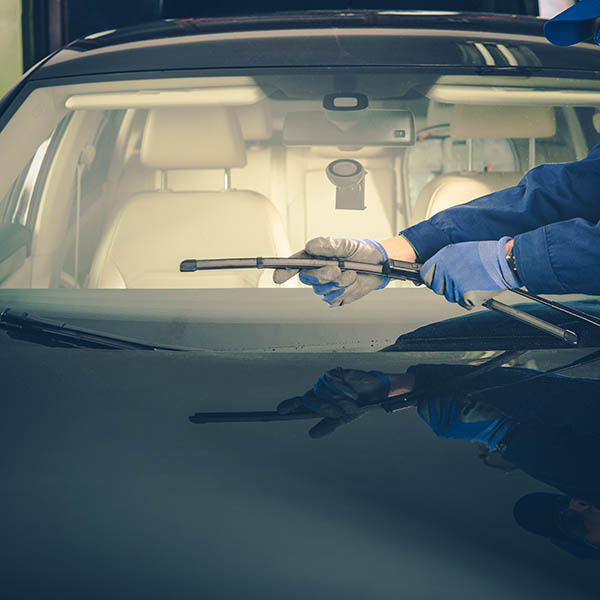 Windshield Wiper Replacement by Professional Auto Service Technician
